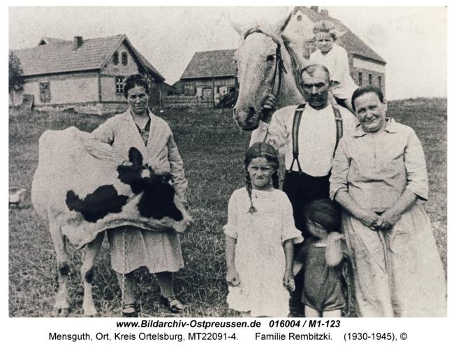 Mensguth, Familie Rembitzki