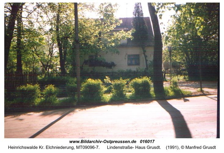 Heinrichswalde, Lindenstraße- Haus Grusdt