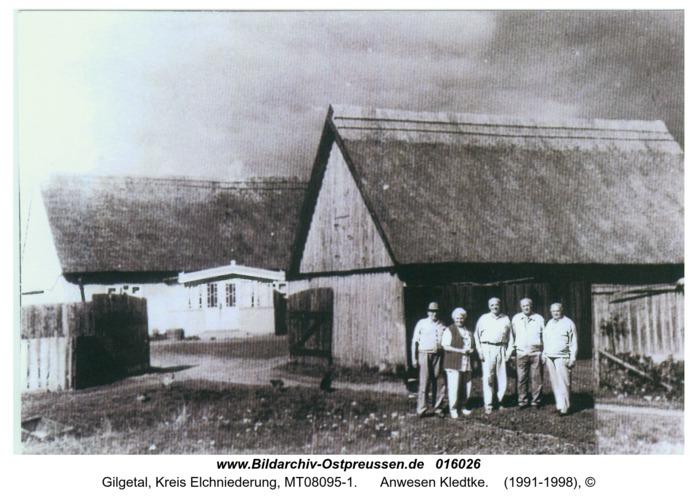 Gilgetal, Anwesen Kledtke