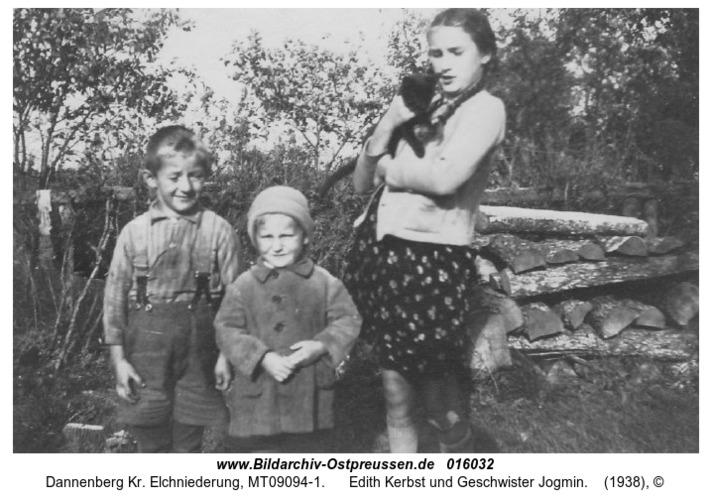 Dannenberg, Edith Kerbst und Geschwister Jogmin