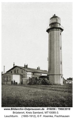 Brüsterort, Leuchtturm