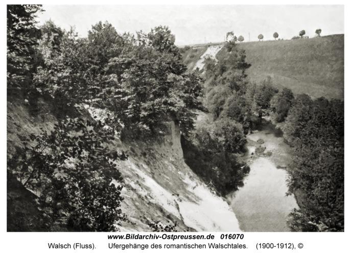 Walsch (Fluß), Ufergehänge des romantischen Walschtales