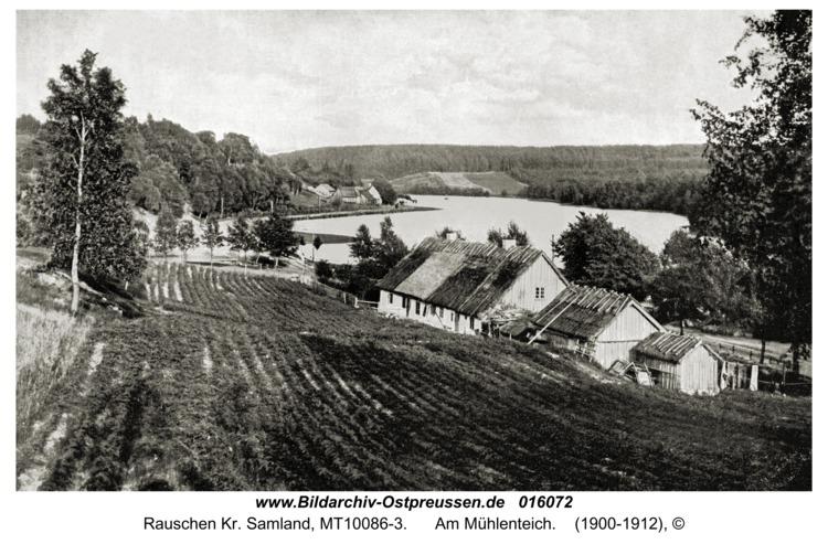 Rauschen Kr. Samland, Am Mühlenteich
