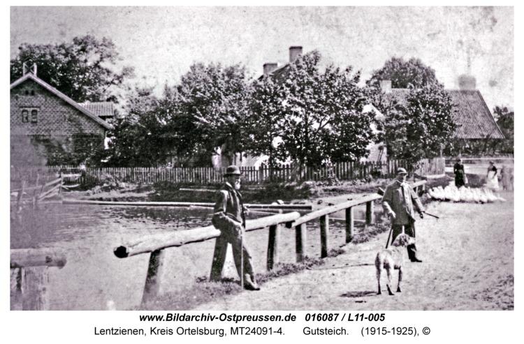 Lentzienen, Gutsteich
