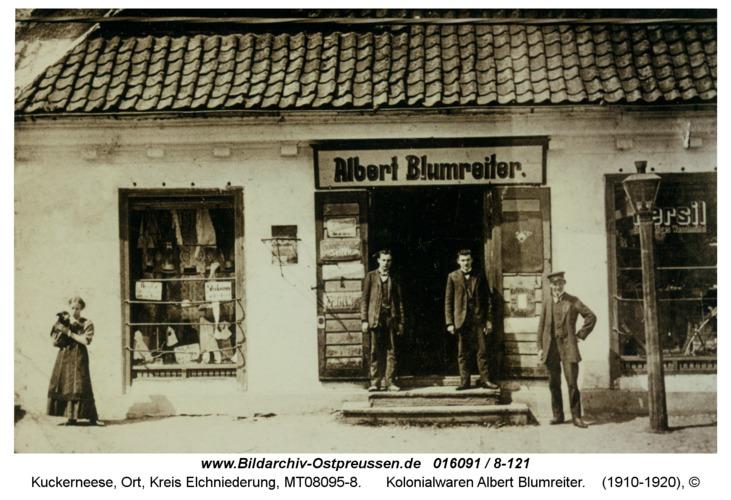 Kuckerneese, Kolonialwaren Albert Blumreiter