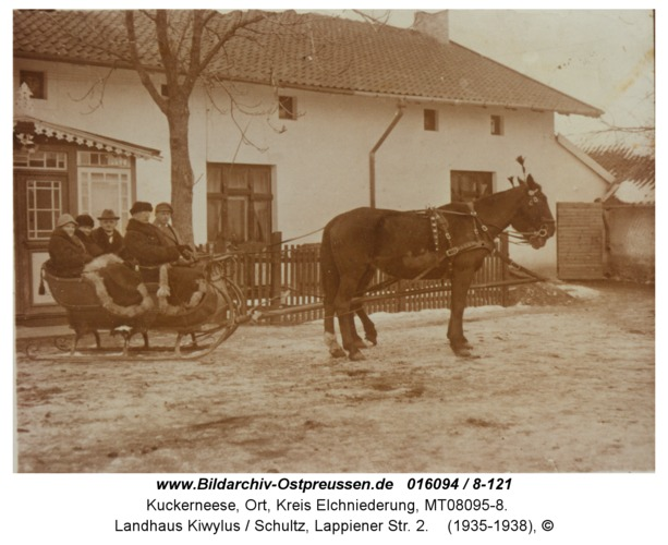 Kuckerneese, Landhaus Kiwylus / Schultz, Lappiener Str. 2