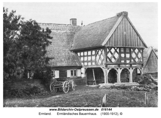 Ermland, Ermländisches Bauernhaus