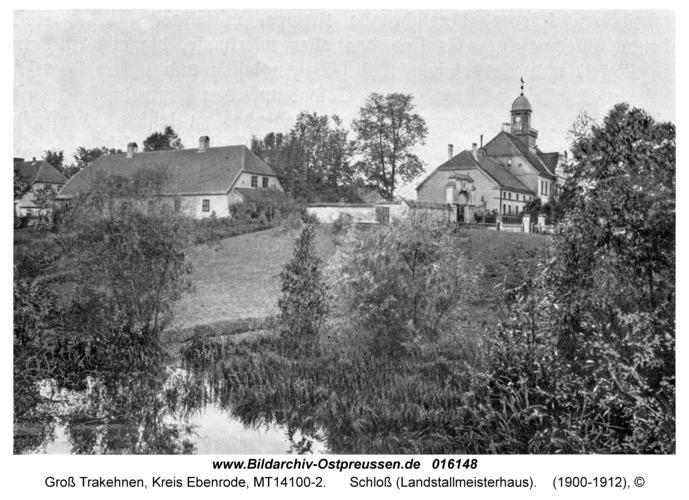 Groß Trakehnen, Schloß (Landstallmeisterhaus)