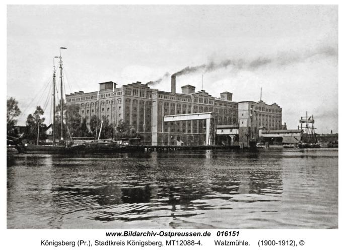 Königsberg, Walzmühle
