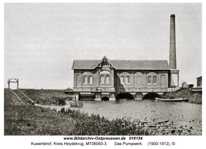 Kuwertshof, Das Pumpwerk