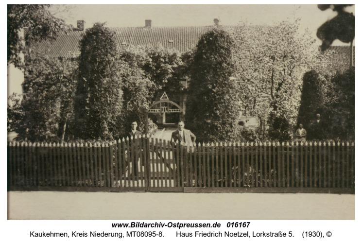 Kuckerneese, Haus Friedrich Noetzel, Lorkstraße 5