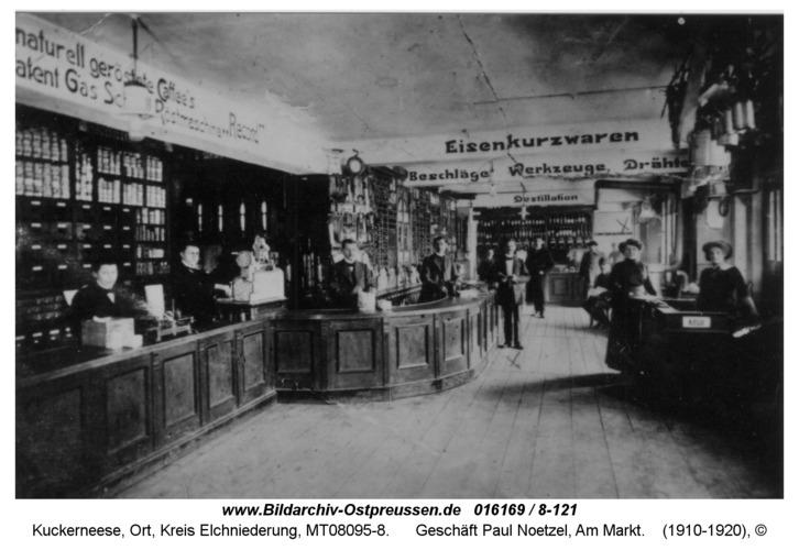 Kuckerneese, Geschäft Paul Noetzel, Am Markt