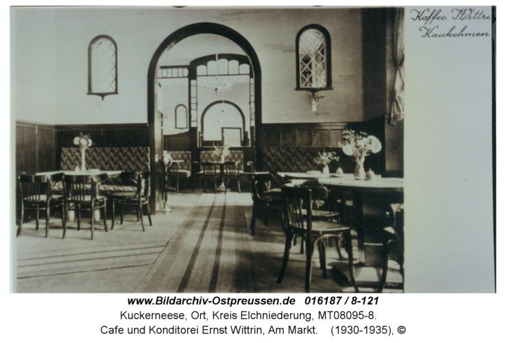 Kuckerneese, Cafe und Konditorei Ernst Wittrin, Am Markt