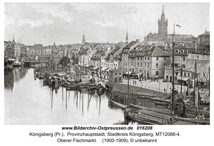 Königsberg, Oberer Fischmarkt