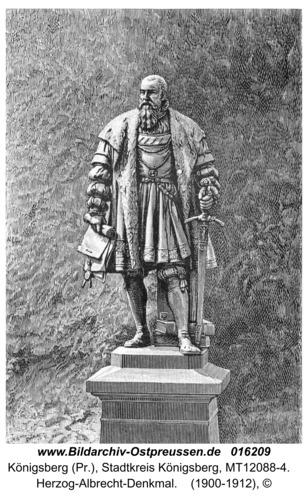 Königsberg, Herzog-Albrecht-Denkmal