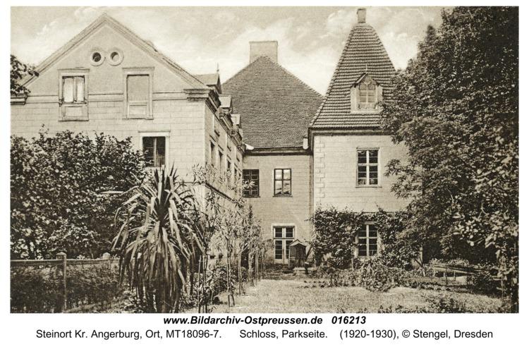 Steinort Kr. Angerburg, Schloss, Parkseite