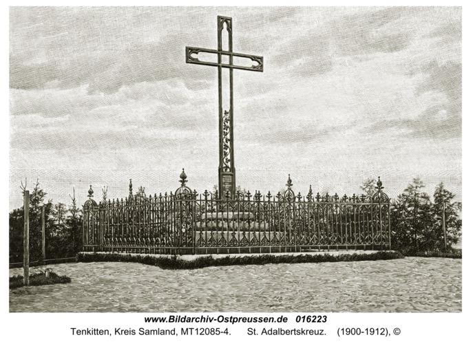 Tenkitten, St. Adalbertskreuz