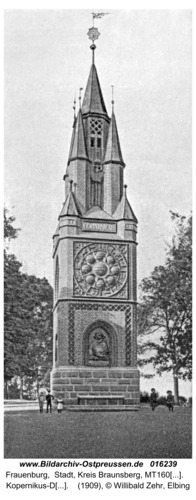 Frauenburg, Kopernikus-Denkmal