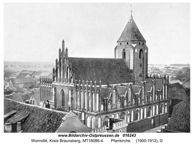 Wormditt, Pfarrkirche