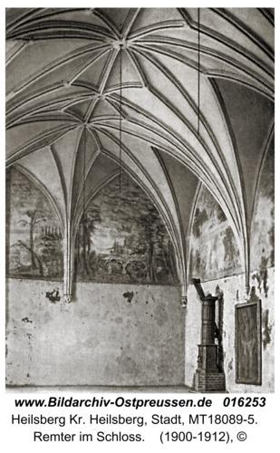 Heilsberg, Remter im Schloss