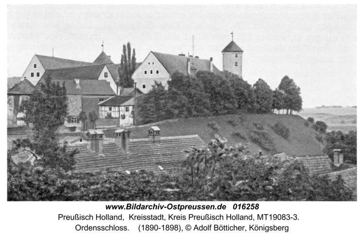 Preußisch Holland, Ordensschloss