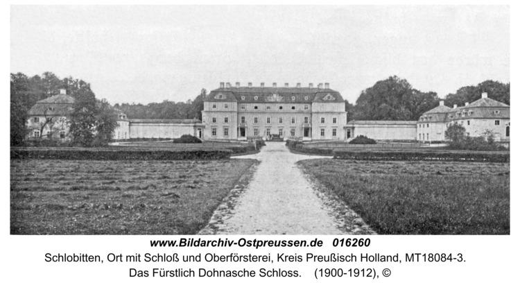 Schlobitten, Das Fürstlich Dohnasche Schloss