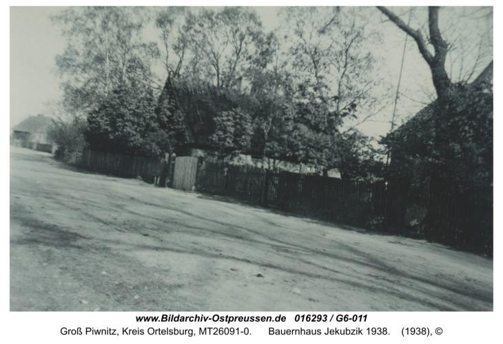 Großalbrechtsort, Bauernhaus Jekubzik 1938