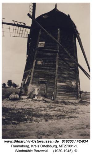 Flammberg, Windmühle Borowski