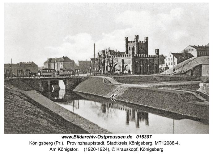 Königsberg, Am Königstor
