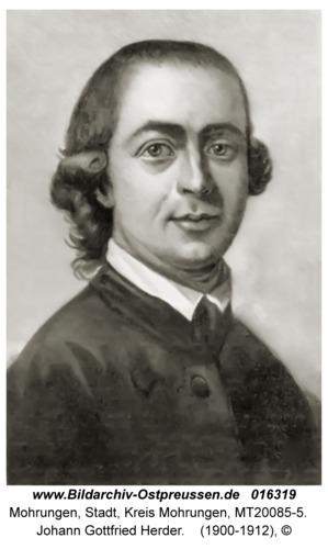 Mohrungen, Johann Gottfried Herder
