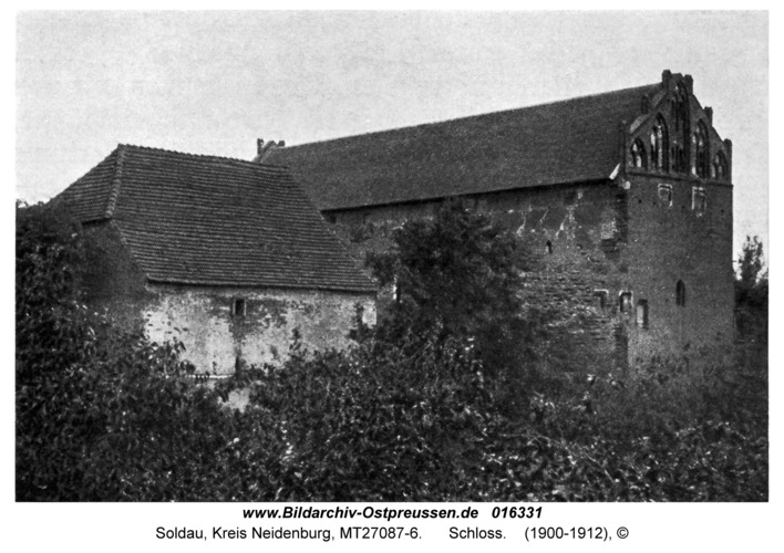 Soldau, Schloss