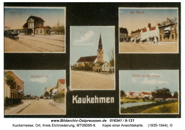 Kuckerneese, Kopie einer Ansichtskarte
