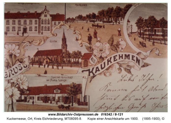 Kuckerneese, Kopie einer Ansichtskarte um 1900