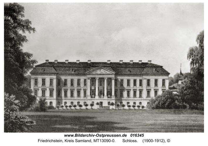 Friedrichstein, Schloss