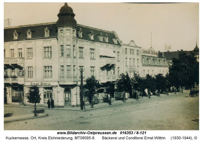 Kuckerneese, Bäckerei und Conditorei Ernst Wittrin