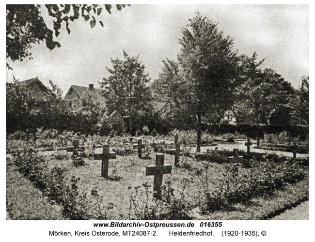 Mörken, Heldenfriedhof