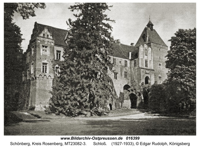 Schönberg Kr. Rosenberg, Schloß