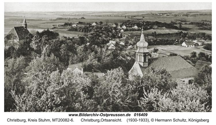 Christburg,Ortsansicht