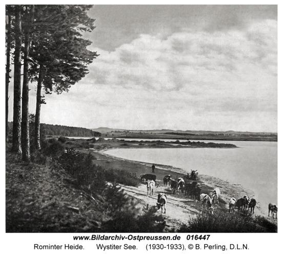 Rominter Heide, Wystiter See