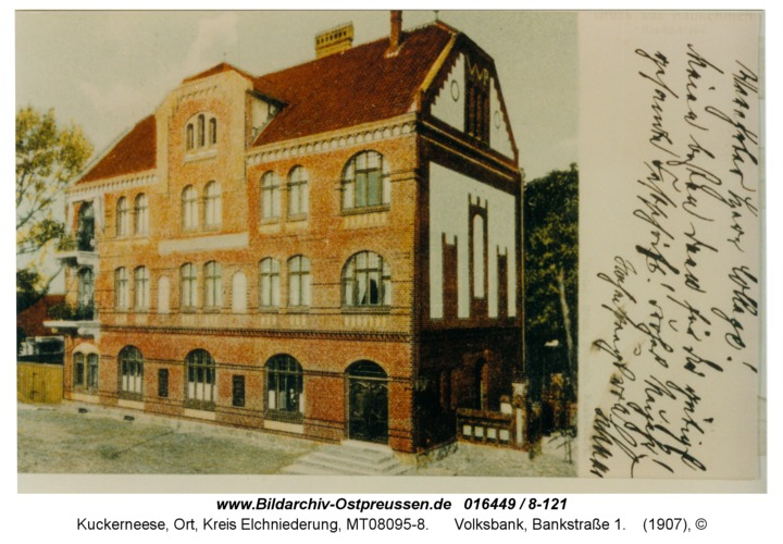 Kuckerneese, Volksbank, Bankstraße 1