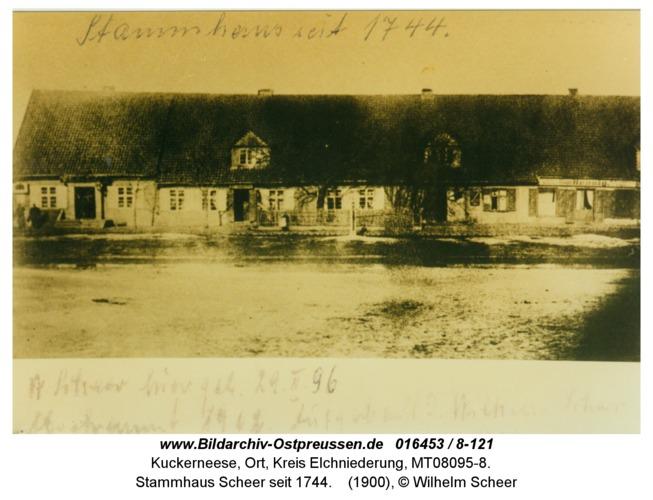 Kuckerneese, Stammhaus Scheer seit 1744