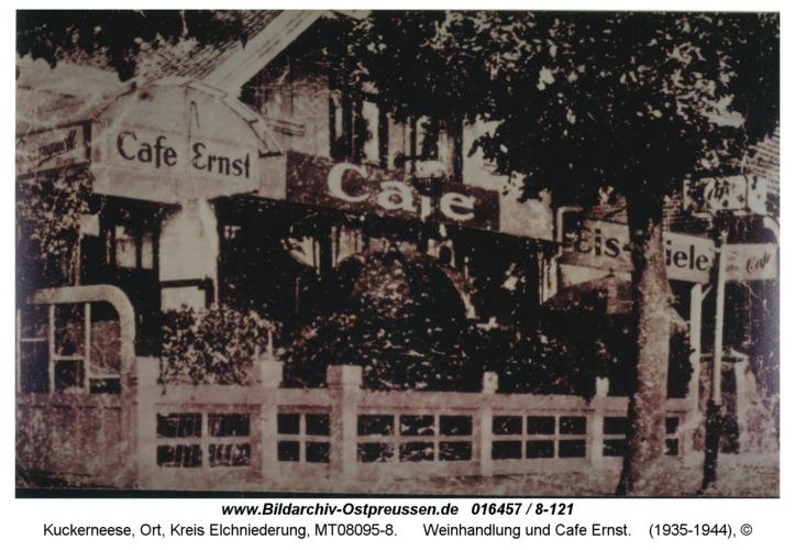 Kuckerneese, Weinhandlung und Cafe Ernst