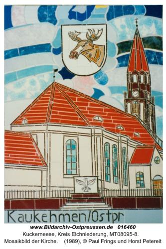 Kuckerneese, Mosaikbild der Kirche