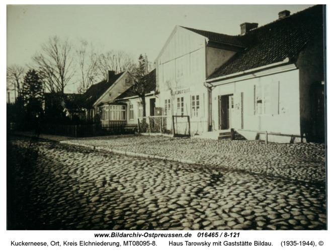 Kuckerneese, Haus Tarowsky mit Gaststätte Bildau