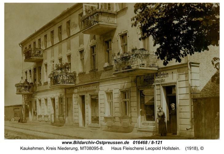 Kuckerneese, Haus Fleischerei Leopold Hollstein