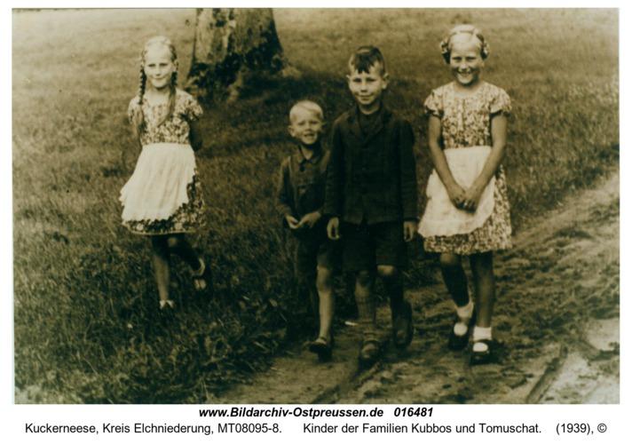 Kuckerneese, Kinder der Familien Kubbos und Tomuschat