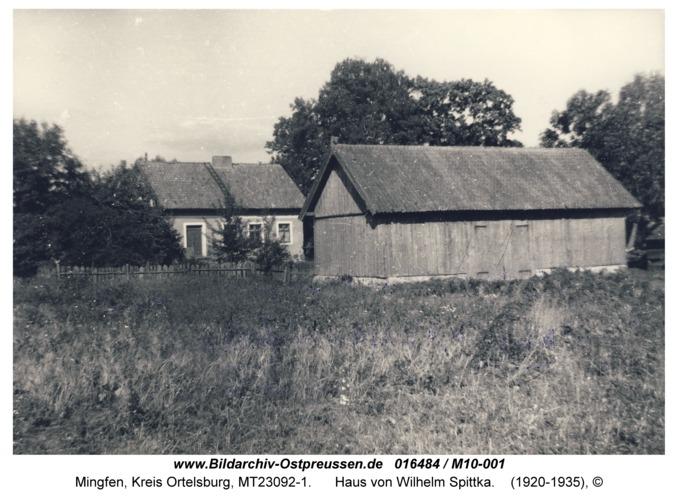 Mingfen, Haus von Wilhelm Spittka