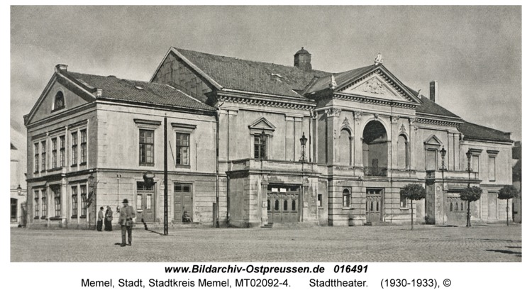 Memel, Stadttheater