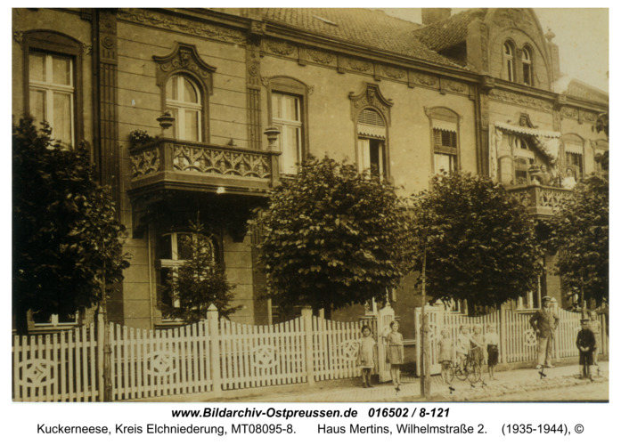 Kuckerneese, Haus Mertins, Wilhelmstraße 2