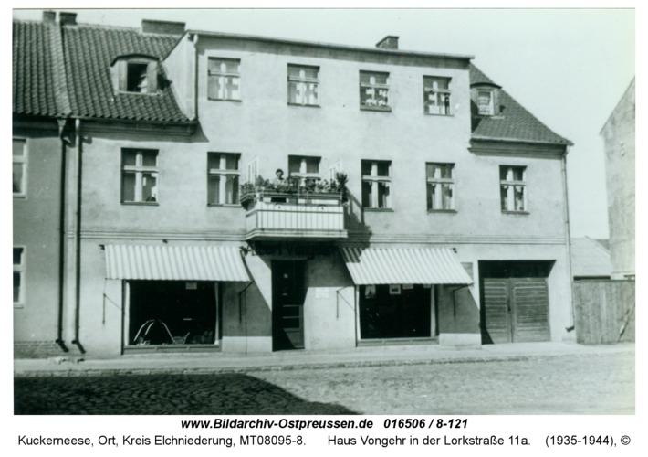 Kuckerneese, Haus Vongehr in der Lorkstraße 11a